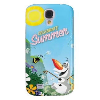 Olaf, Celebrate Summer Samsung Galaxy S4 Covers