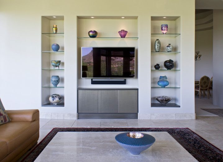 Decorative Wall Niches For The Living Room You Need To See