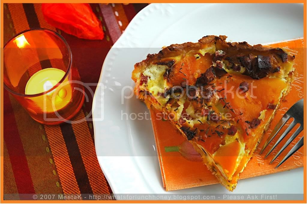 Pumpkin Feta Tart (06) by MeetaK