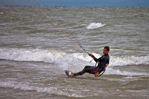 Parasurfing