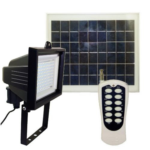 108 LEDs Solar Flood Light with Remote | Greenlytes