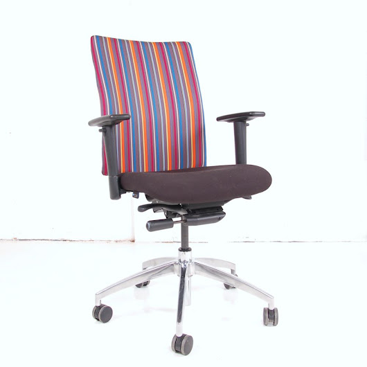 Paul Smith Vector Operator Chair | Paul Smith Stripe Chair | Stripy Computer Chair
