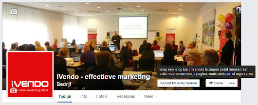 Een Call To Action knop op je Facebookpagina - iVendo Marketing