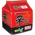 (4 Pack) Nongshim Shin Ramyun Gourmet Spicy Noodle Soup, 4.2 oz