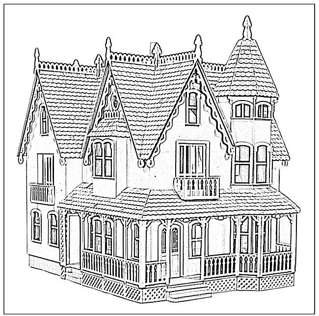87 Dessins De Coloriage Maison à Imprimer Sur Laguerchecom Page 2