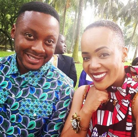 Tumi Morake and Mpho Osei Tutu celebrate their 8th