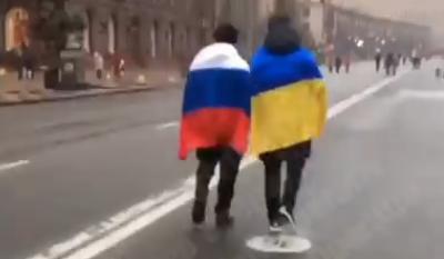 Эти двое сильнее всей бандеровской своры. Киев, 09.12.2018г.