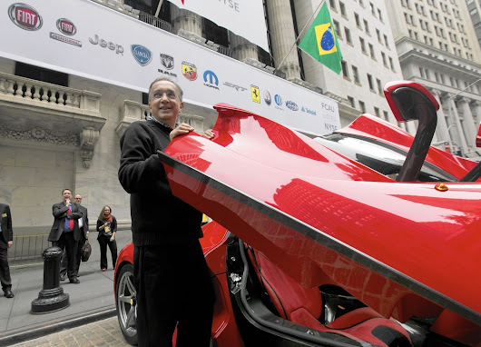 Ferrari to separate from Fiat, offer 10% of its shares in IPO