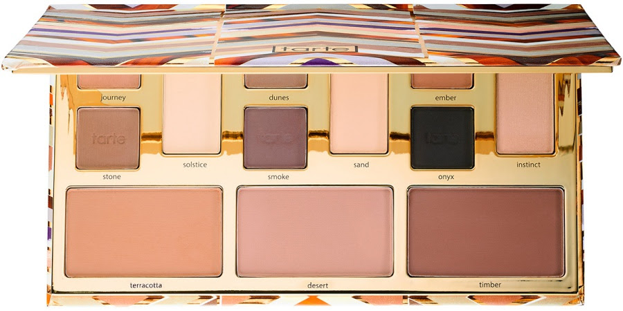 Tarte Clay Play Face Shaping Palette Swatches