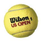 Wilson T1071 Us Open Tournament Select Extra Duty Tennis Balls, 3-pack