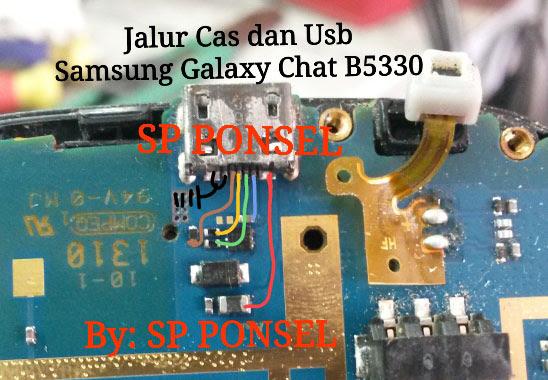 Samsung Galaxy Chat B5330 Usb Charging Problem Solution Jumper Ways