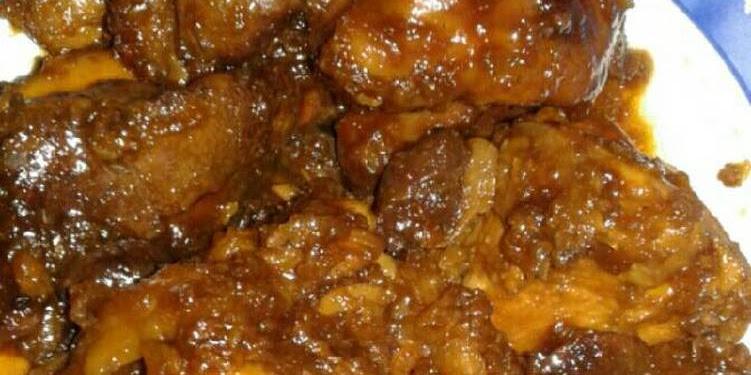 Resep Ayam+hati Ampela Kecap Oleh Chiraputhry