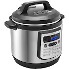 Insignia - 8-Quart Multi-Function Pressure Cooker - Stainless Steel