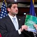 Representative Paul D. Ryan announcing his Republican budget proposal last week. His party believes the plan gives it an edge.