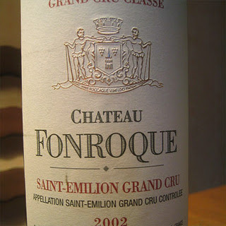 Château Fonroque 2002 as photographed by Nicolas Patte