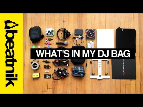 Whats In a DJs Bag