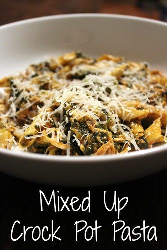 Mixed Up Crock Pot Pasta