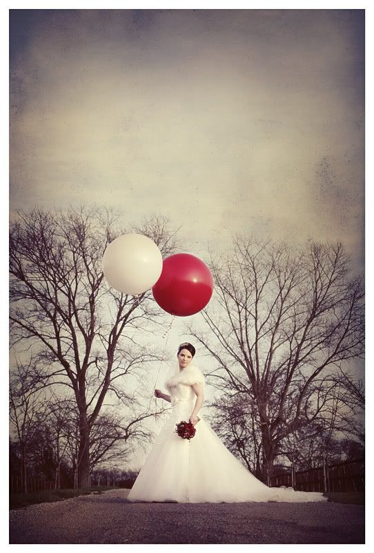 Wedding photography at the Reid Rooms_Essex wedding photography_Phil Lynch Photographer, Vintage photograph of bride with big balloons