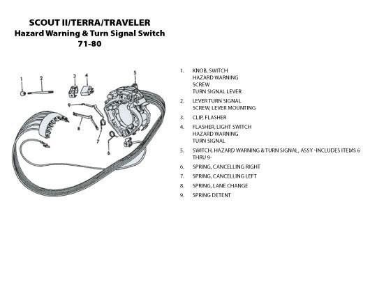 1976 International Scout Wiring Diagram