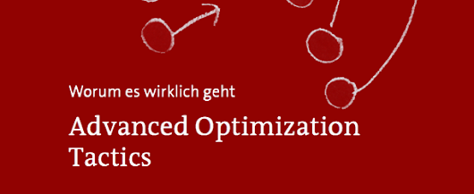 eBook Download: Advanced Optimization Tactics (108 Seiten) - konversionsKRAFT