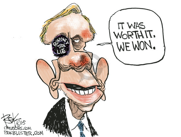 Image result for harry reid caricatures
