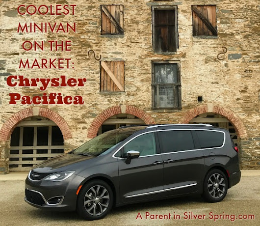 Chrysler Pacifica Real Mom (and Kid) Review
