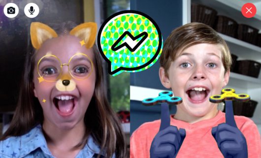 New Facebook Messenger is Just for Kids