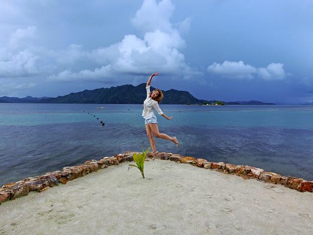 Nicolekiss at Coron, Palawan, Philippines