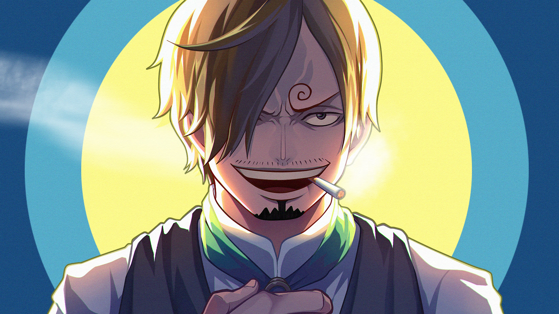 Wallpaper Sanji One Piece Hd Gambarku