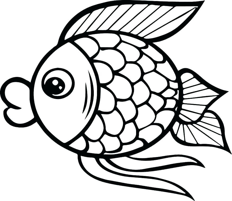 Fish Cartoon Coloring Pages at GetColorings.com   Free ...