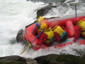 White Water Rafting at KiwiWise