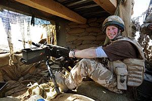 El príncipe Enrique, en Afganistán. (Foto: AP)