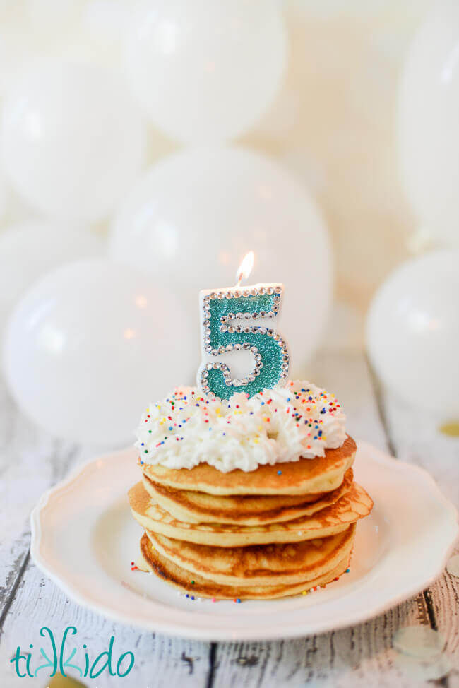 Best Birthday Pancake Cake Recipe How To Make Birthday