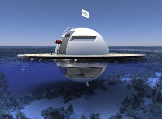 Floating home redesigned – Introducing Jet Capsule UFO