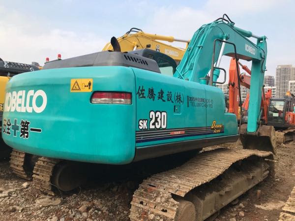 23t Used Kobelco Hydraulic Excavator Kobelco Heavy Equipment Sk230 6 Sk230 6e For Sale Used Kobelco Excavator Manufacturer From China 109001105