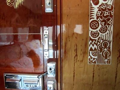 Sleeping Car 3539 - Orient Express - chrome fittings