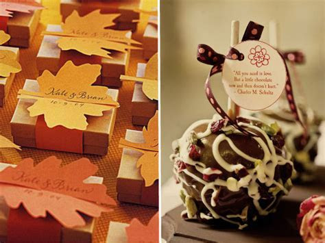 Hot Fall Wedding Detail Ideas 2013 Trends