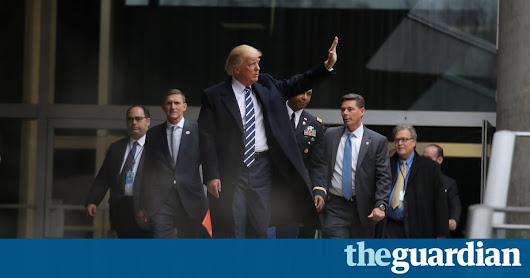 CIA liaison is first casualty of conflict between intelligence agency and Trump | US news | The Guardian