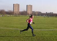Kate Jenkins on 1st lap