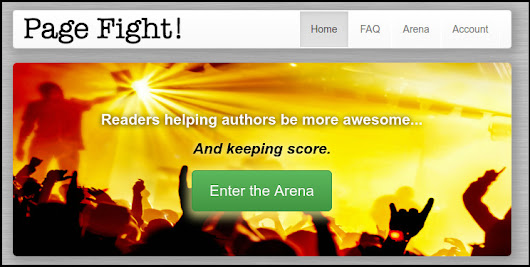 Announcing Page Fight!: a fast-paced game where books compete for reader love and authors win