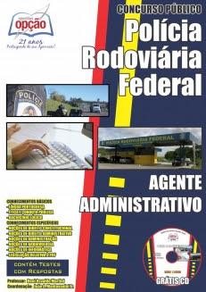 Polícia Rodoviária Federal-AGENTE ADMINISTRATIVO - Concurso de 2012