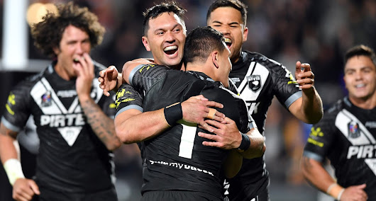 Highlights: Rapana stars as Kiwis defeat Kangaroos - Raidercast