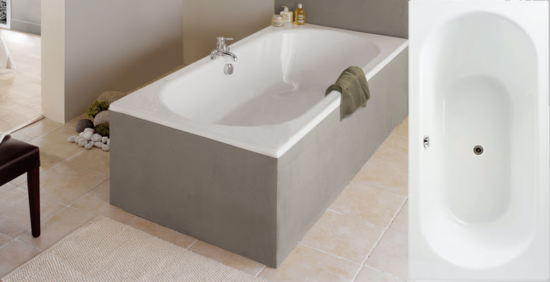 Baignoire Rectangulaire Duo La Collection Allibert Belgique