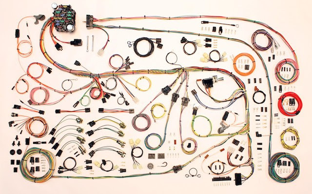 Complete Wiring Harness Kit 1967 75 Plymouth Duster Part 510603 American Auto Wire Plymouth 1967 75 Plymouth Duster