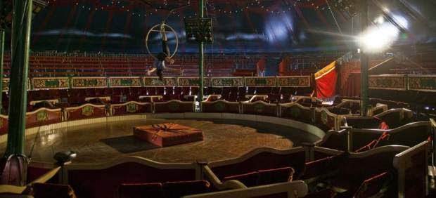 Ensayos en el circo.