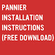 Pannier Installations Instructions