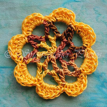 8-petaled Sunflake II