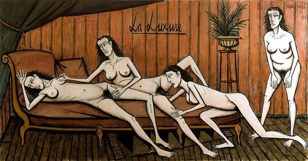 la luxure - Bernard Buffet - 1994