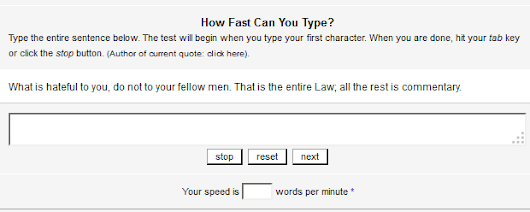 How Fast Can You Type? Test Your Skills With My Free Tool | Kay Franklin Info Products