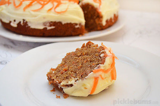 Easy Carrot Cake - Picklebums